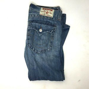 True Religion JOEY Bootcut Wide Leg Jeans